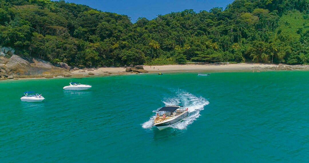as ilhas sao sebastiao marina vitoria foto aera